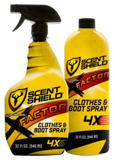Scent Shield X-Factor Clothes & Boot Spray Combo Pack