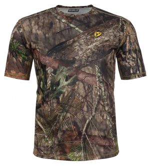 Shield Series Angatec Short Sleeve Performance Shirt-Mossy Oak Break-Up Country-Small