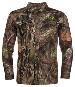 Angatec Snap Shirt-Mossy Oak Break-Up Country-Medium