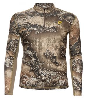 Shield Series Angatec 1/4 Zip Performance Tee -Realtree Excape-Small