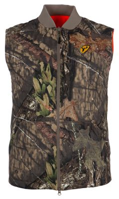 Shield Series Evolve Reversible Vest -Mossy Oak Break-Up Country & Blaze-Medium