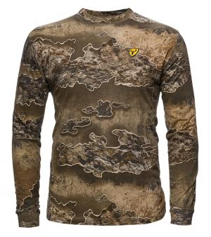 Youth Fused Cotton L/S Top-Realtree Excape-Small