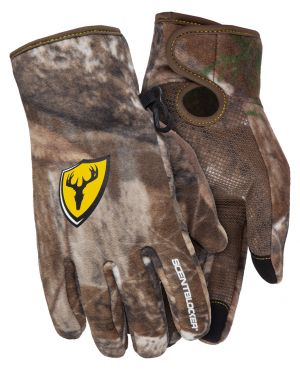 ScentBlocker Adrenaline Glove-Realtree Edge-Medium