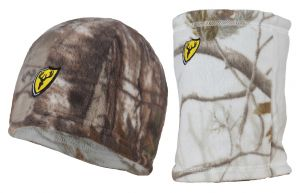 Beanie/Gaiter Reversible Combo -Realtree Xtra & AP Snow