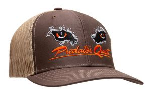 Predator Quest Logo Hat Black-Brown
