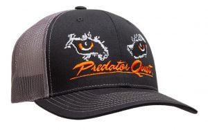 Predator Quest Logo Hat Black-Black