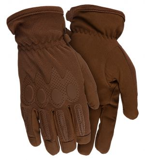 Stretch Shooting Gloves-Coyote Brown-Small