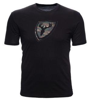 Blocker Outdoors Shield Camo T-Shirt-Small-Black