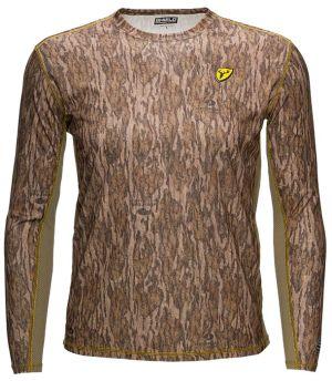Shield Series Angatec Performance Shirt-Mossy Oak New Bottomland-Small