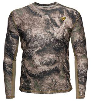 Shield Series Angatec Performance Shirt-Mossy Oak Terra Coyote-Small