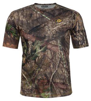Shield Series Angatec Short Sleeve Performance Shirt-Mossy Oak Break-Up Country-Small