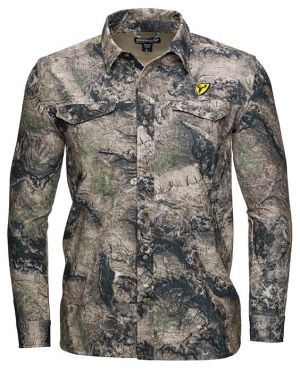Shield Series Angatec Snap Shirt-Mossy Oak Terra Coyote-Small