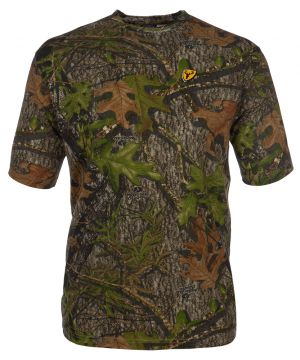 Shield Series Fused Cotton S/S Top -Mossy Oak Obsession-Large