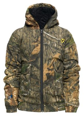 Youth Commander Jacket-Mossy Oak DNA-Small