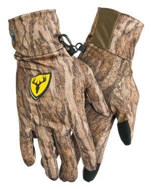 Shield Series S3 Touch Text Glove-Mossy Oak New Bottomland-Medium