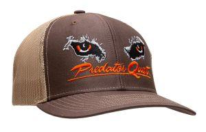 Predator Quest Logo Hat Black-Brown