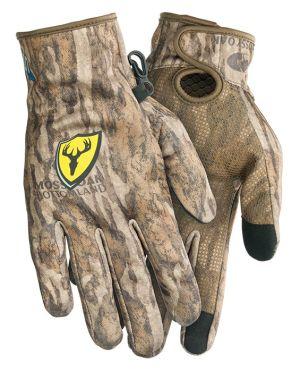 Shield Series S3 Fleece Glove-Mossy Oak New Bottomland-Medium