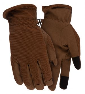 Stretch Shooting Glove-Coyote Brown-L
