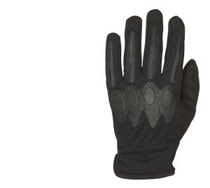 Stretch Shooting Gloves-Black-Small