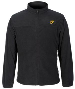Shield Fleece Logo Jacket-Black-Medium