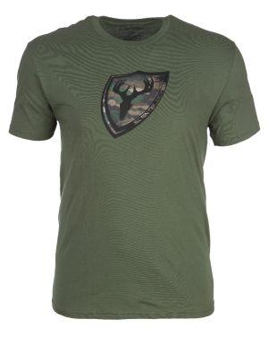 Blocker Outdoors Shield Camo T-Shirt-Small-Green