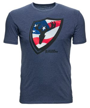 Blocker American Shield T-Shirt-Small