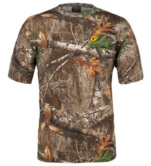 Youth Fused Cotton S/S Top-Realtree Edge-Small