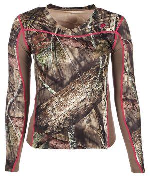 Sola Women's 1.5 L/S Shirt-Mossy Oak Break Up Country-L